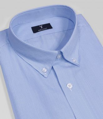 The Connor, Blue Stripe Shirt