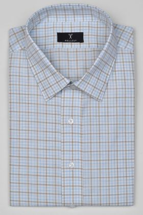 The Wilfred, Blue Brown Check