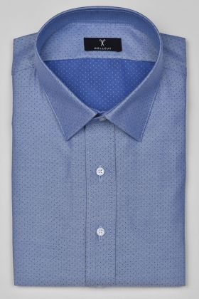 The Oliver, Blue Print Shirt