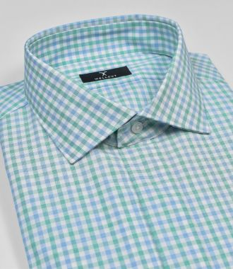 The Christopher, Green Check Shirt