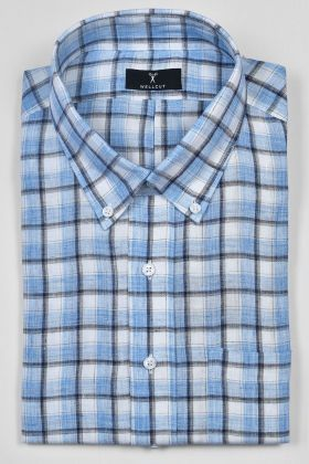 The Alexander, Blue Check Shirt