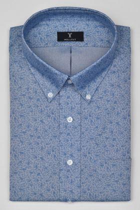 The John, Blue Print Shirt