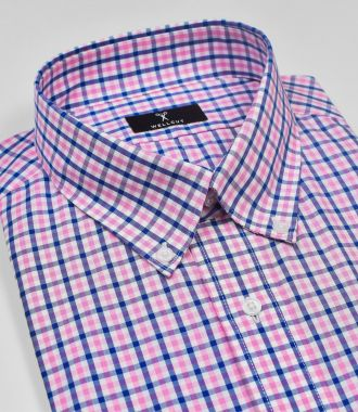 The Dean, Pink & Blue Check