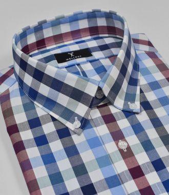 The Joshua, Blue & Red Check Shirt